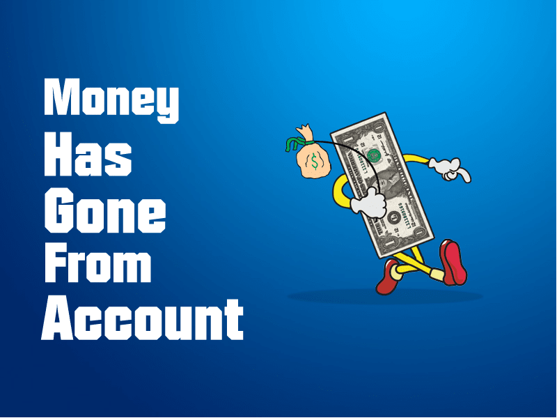 WHAT TO DO IF MONEY HAS GONE FROM YOUR CASINO ACCOUNT?