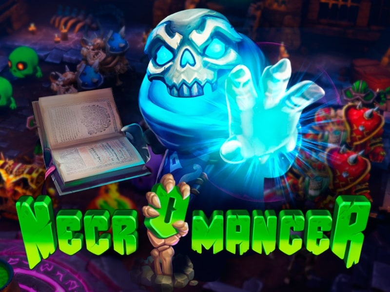 First Full 3D VR Slot Ever - Necromancer by EvoPlay